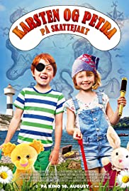Casper and Emma Go Treasure Hunting Poster