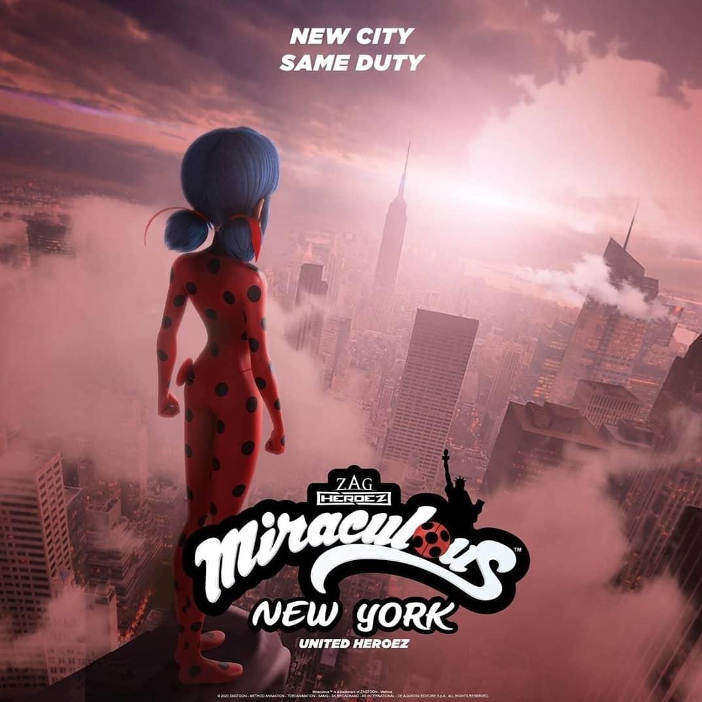 دانلود زیرنویس فارسی فیلم Miraculous World: New York - United HeroeZ