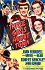 Three Girls About Town (1941) Poster