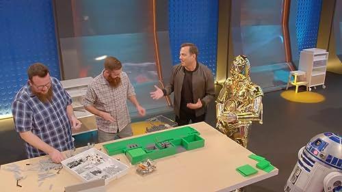 Lego Masters: Will Arnett Freaks Out Over Star Wars