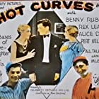 Alice Day, Pert Kelton, Rex Lease, and Benny Rubin in Hot Curves (1930)