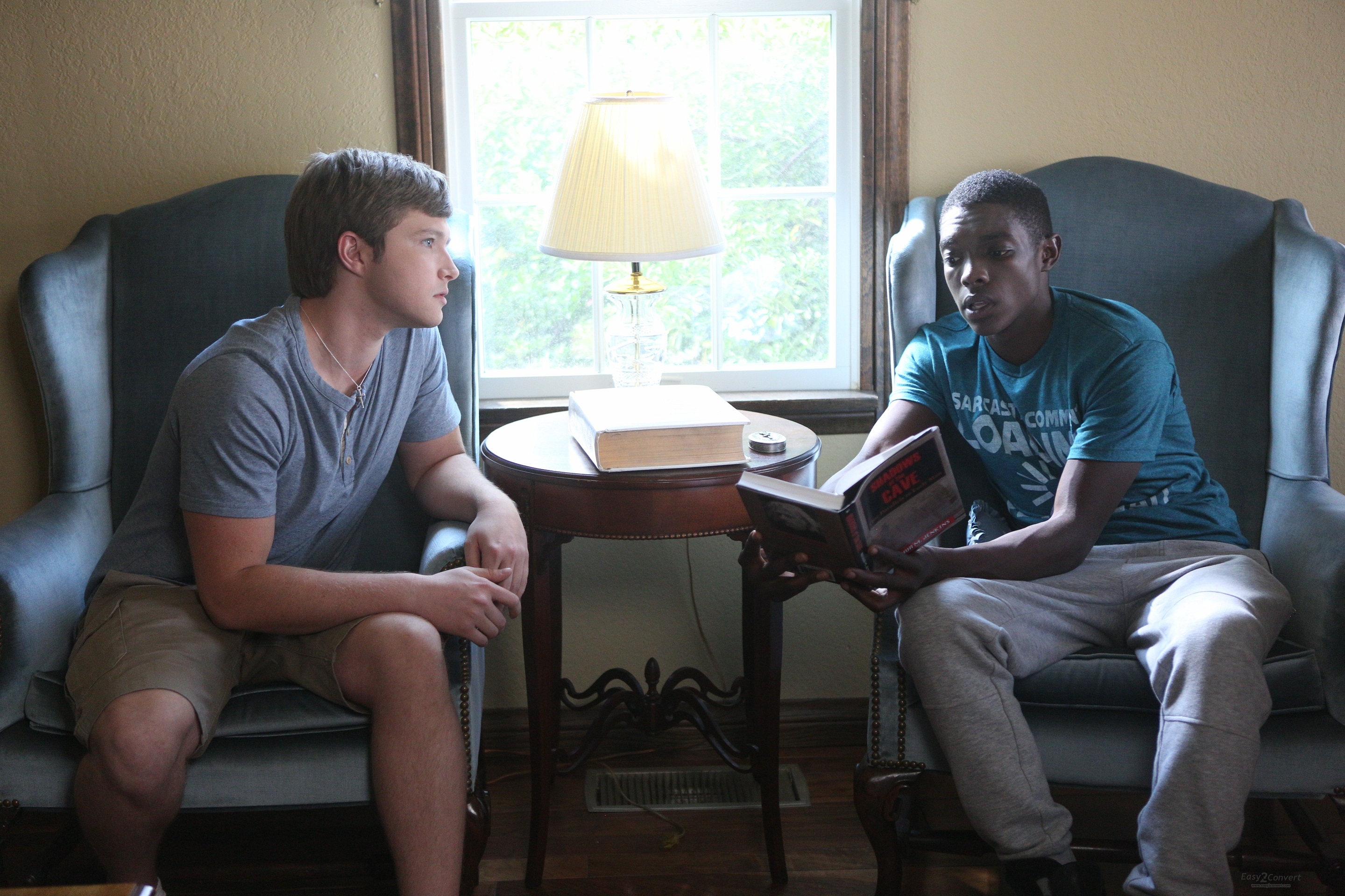 Sterling Knight and Carlos Knight in The Man from Earth: Holocene (2017)