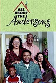 John Amos, Anthony Anderson, Aimee Garcia, Roz Ryan, and Damani Roberts in All About the Andersons (2003)