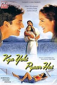 Aftab Shivdasani and Ameesha Patel in Kya Yehi Pyaar Hai (2002)