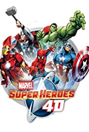 Marvel Super Heroes 4D Experience Poster