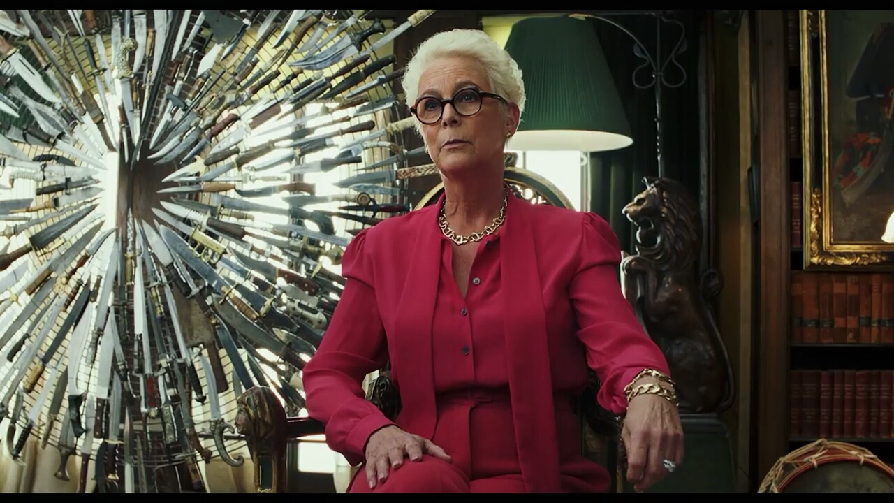 Jamie Lee Curtis in Knives Out (2019)