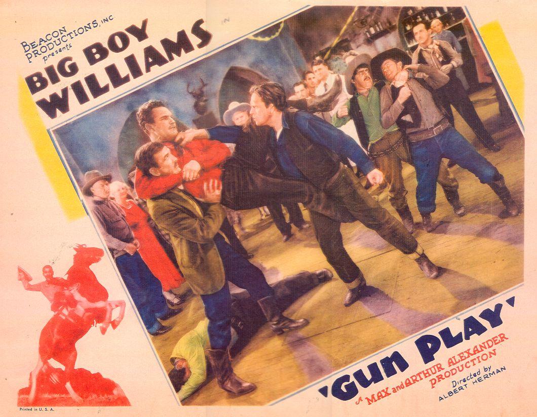 Silver Tip Baker, Bob Burns, Helen Gibson, George Morrell, Guinn 'Big Boy' Williams, Roger Williams, and Frank Yaconelli in Gun Play (1935)