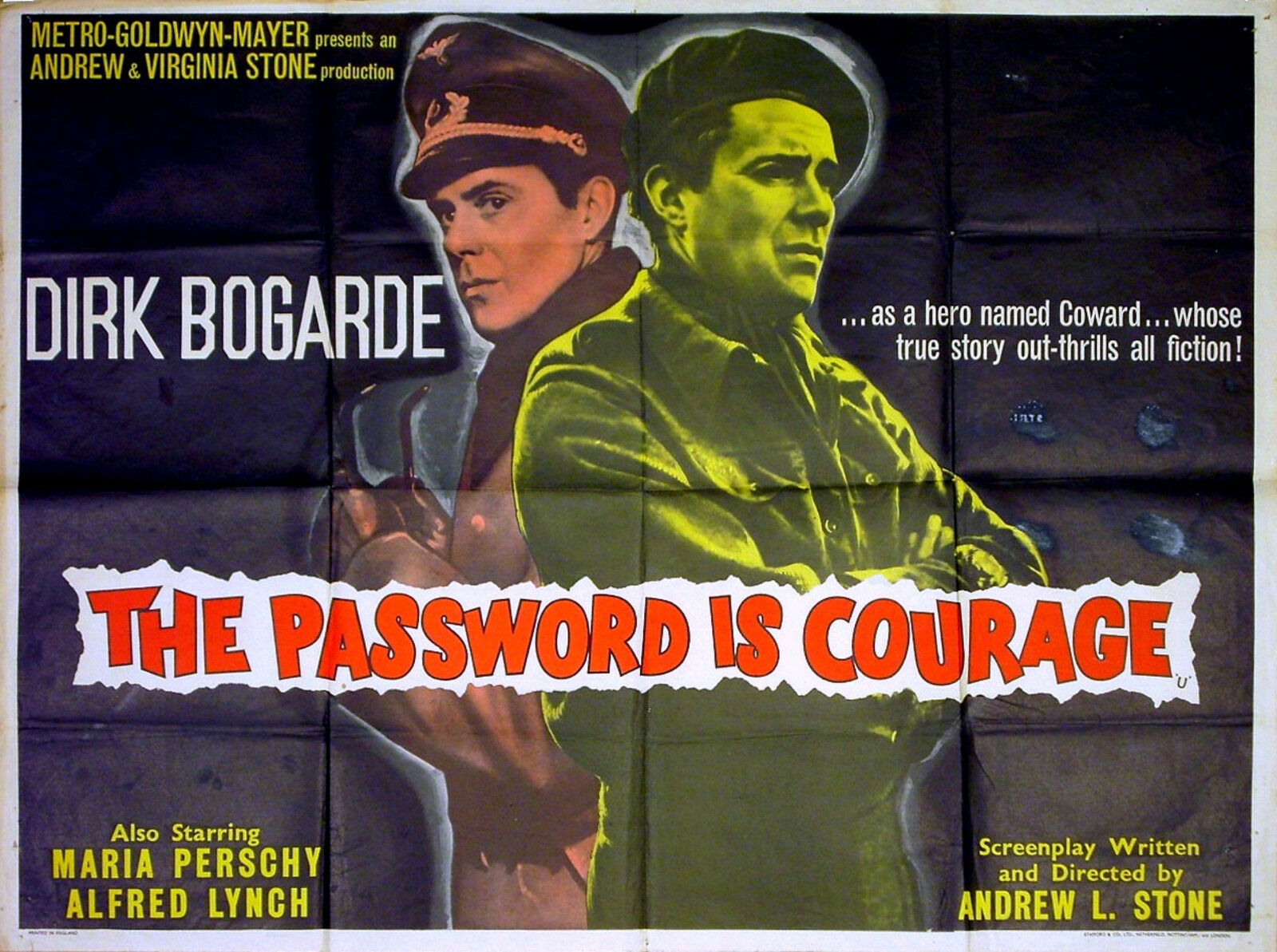War Movie - The Password Is Courage (1962)