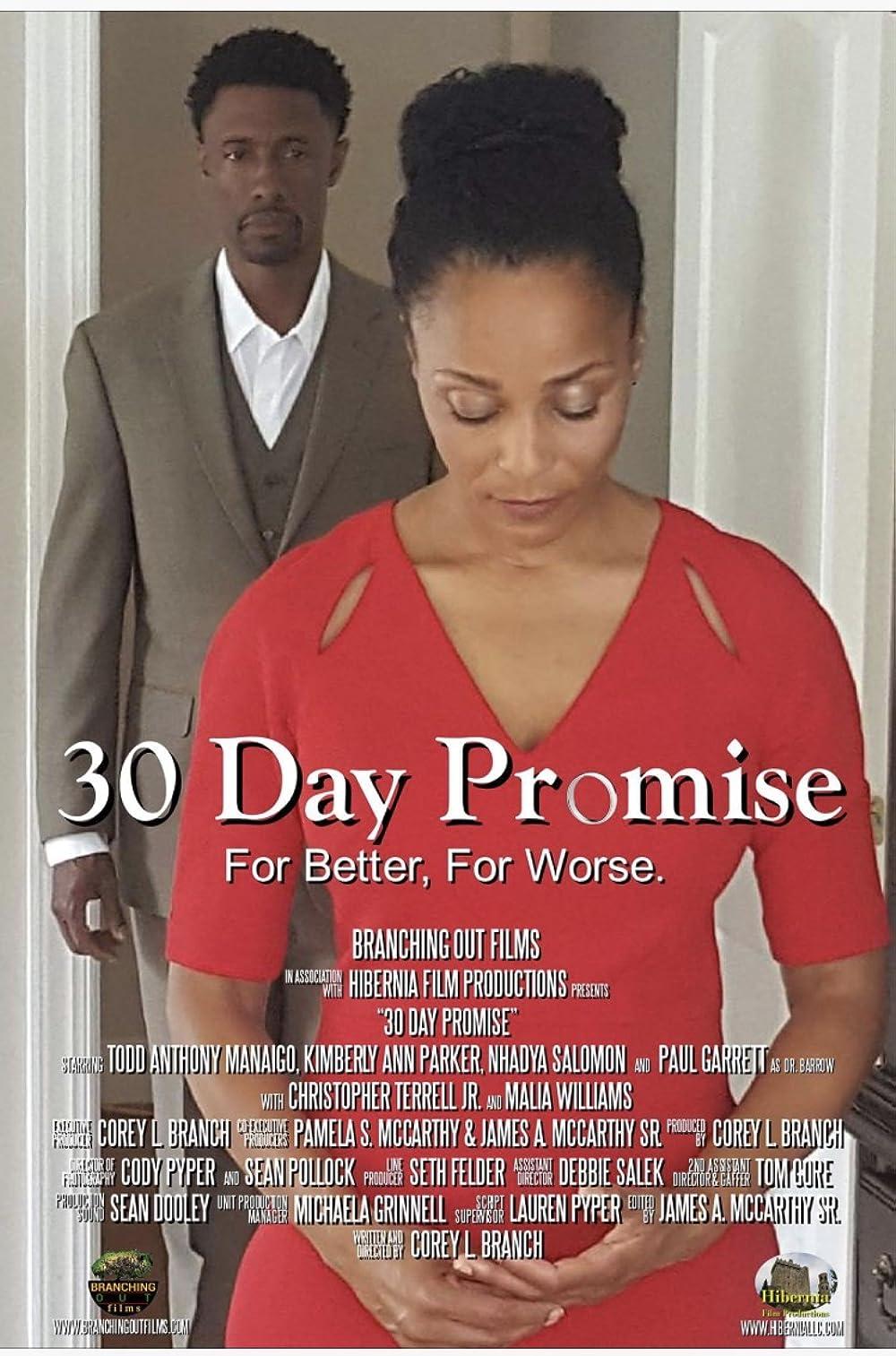 30 Day Promise (2017) - IMDb