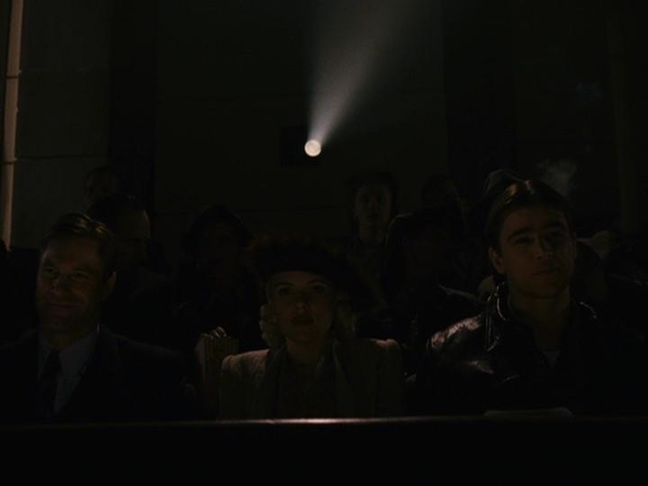 Aaron Eckhart, Josh Hartnett, and Scarlett Johansson in The Black Dahlia (2006)