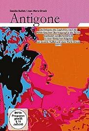 Die Antigone des Sophokles nach der Hölderlinschen Übertragung für die Bühne bearbeitet von Brecht 1948 (Suhrkamp Verlag) Poster