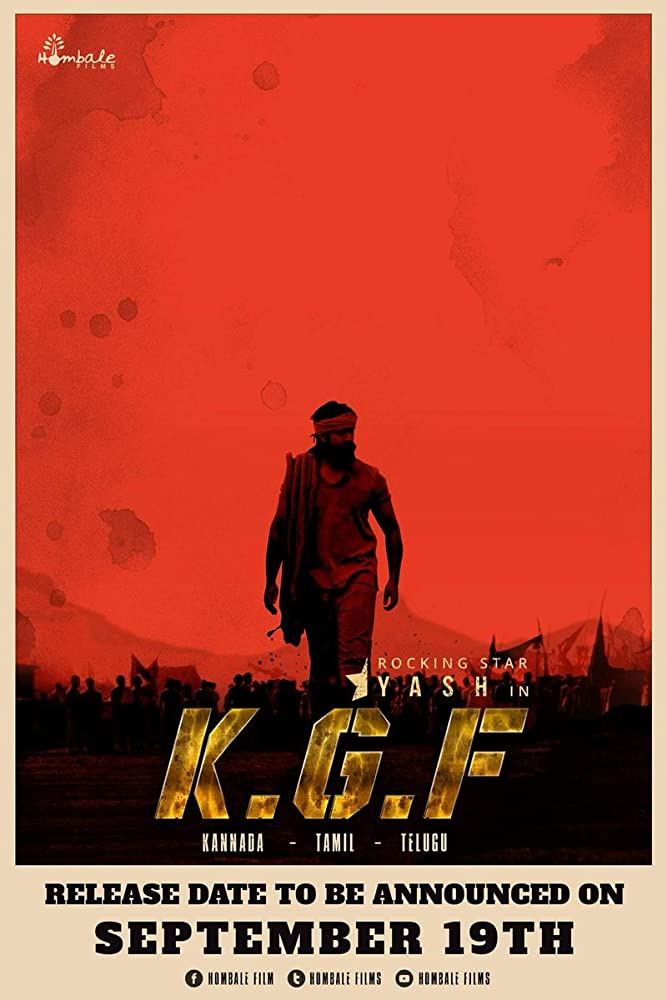 K G F: Chapter 1 (2018)