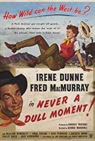 Irene Dunne and Fred MacMurray in Never a Dull Moment (1950)