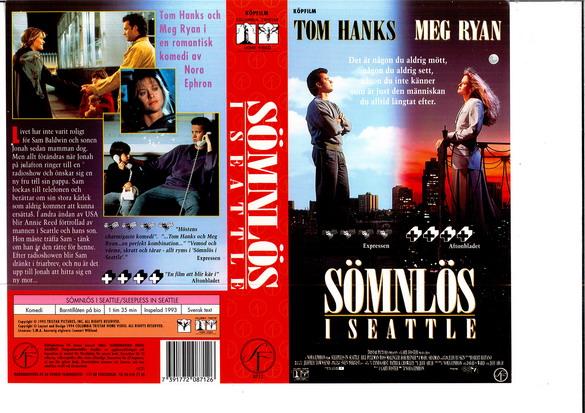 Tom Hanks and Meg Ryan in Sleepless in Seattle (1993)