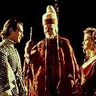 John Gielgud, Isabelle Pasco, and Mark Rylance in Prospero's Books (1991)