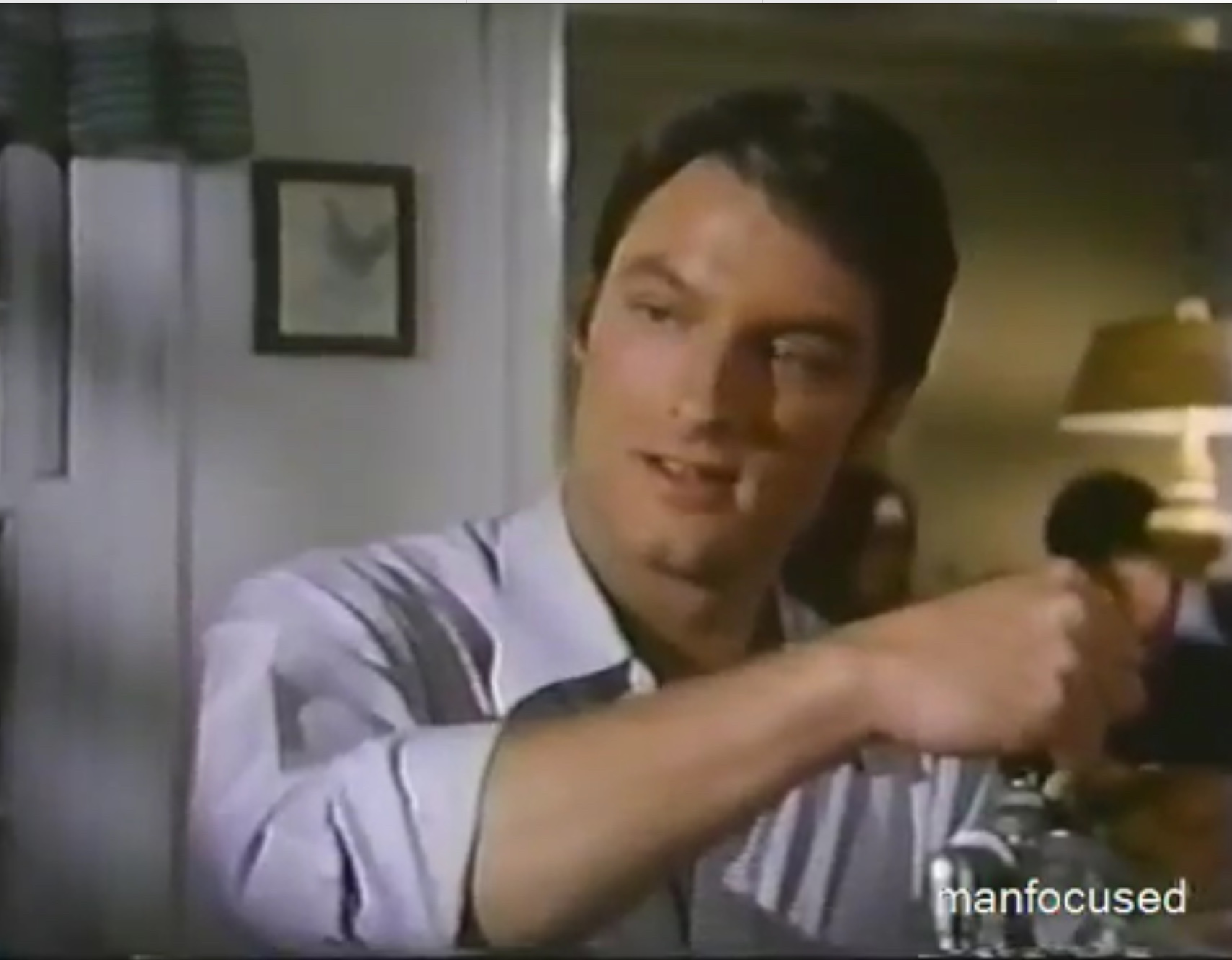 Perry King in Foster & Laurie (1975)