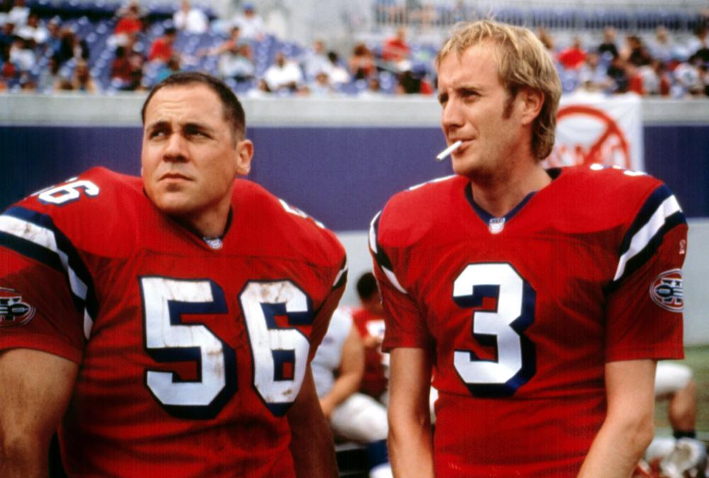 Jon Favreau and Rhys Ifans in The Replacements (2000)