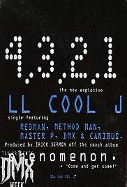 LL Cool J feat. Method Man, Redman & DMX: 4, 3, 2, 1 Poster