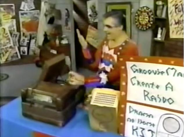 Jim Hendricks in Commander USA's Groovie Movies (1985)