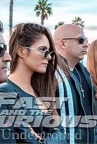 Jayson Sanchez, Ryan Caldwell, Reagan Shankland, Elena Ghenoiu, and Gino Alvarez in The Fast and the Furious: Underground (2019)