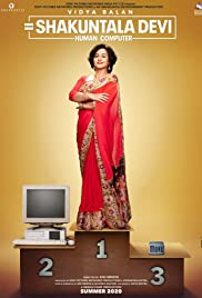 Shakuntala Devi: Human Computer Poster