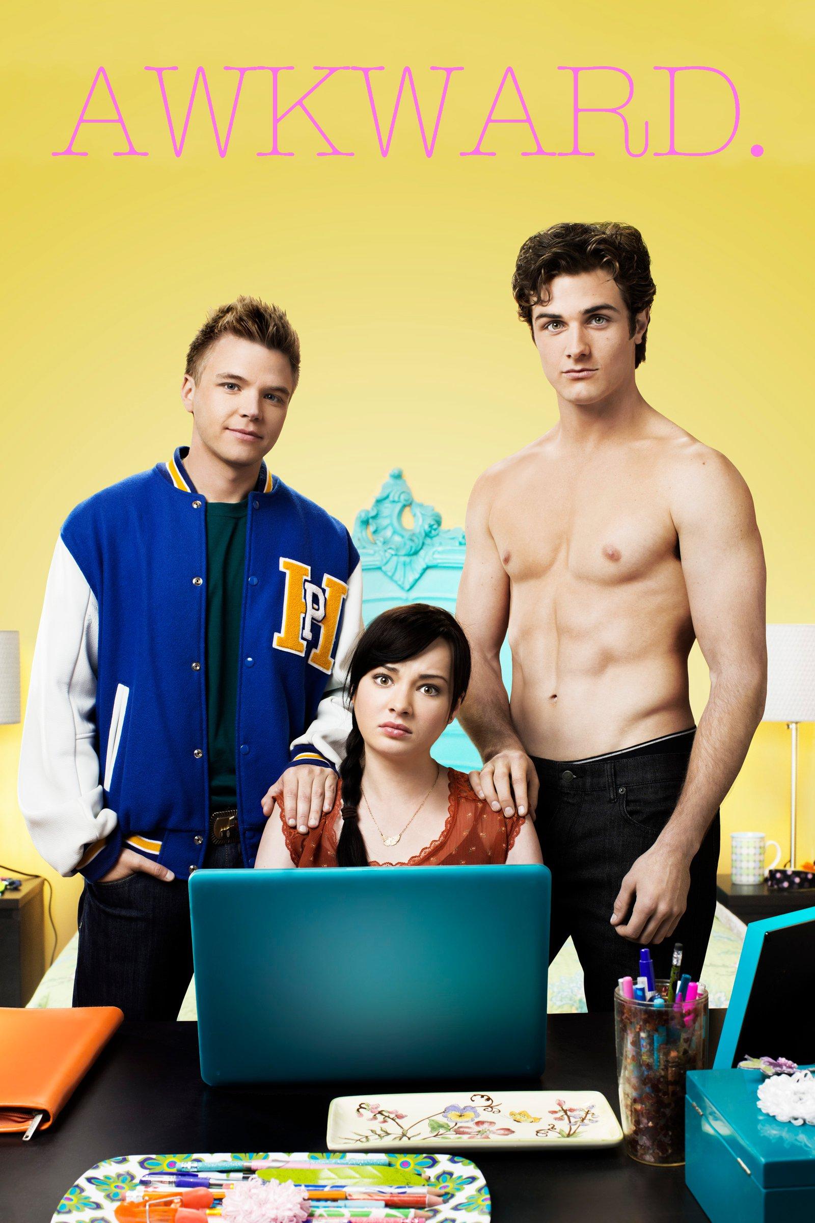 Brett Davern, Beau Mirchoff, and Ashley Rickards in Awkward. (2011)