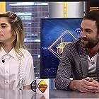 María León and Jon Plazaola in El hormiguero (2006)