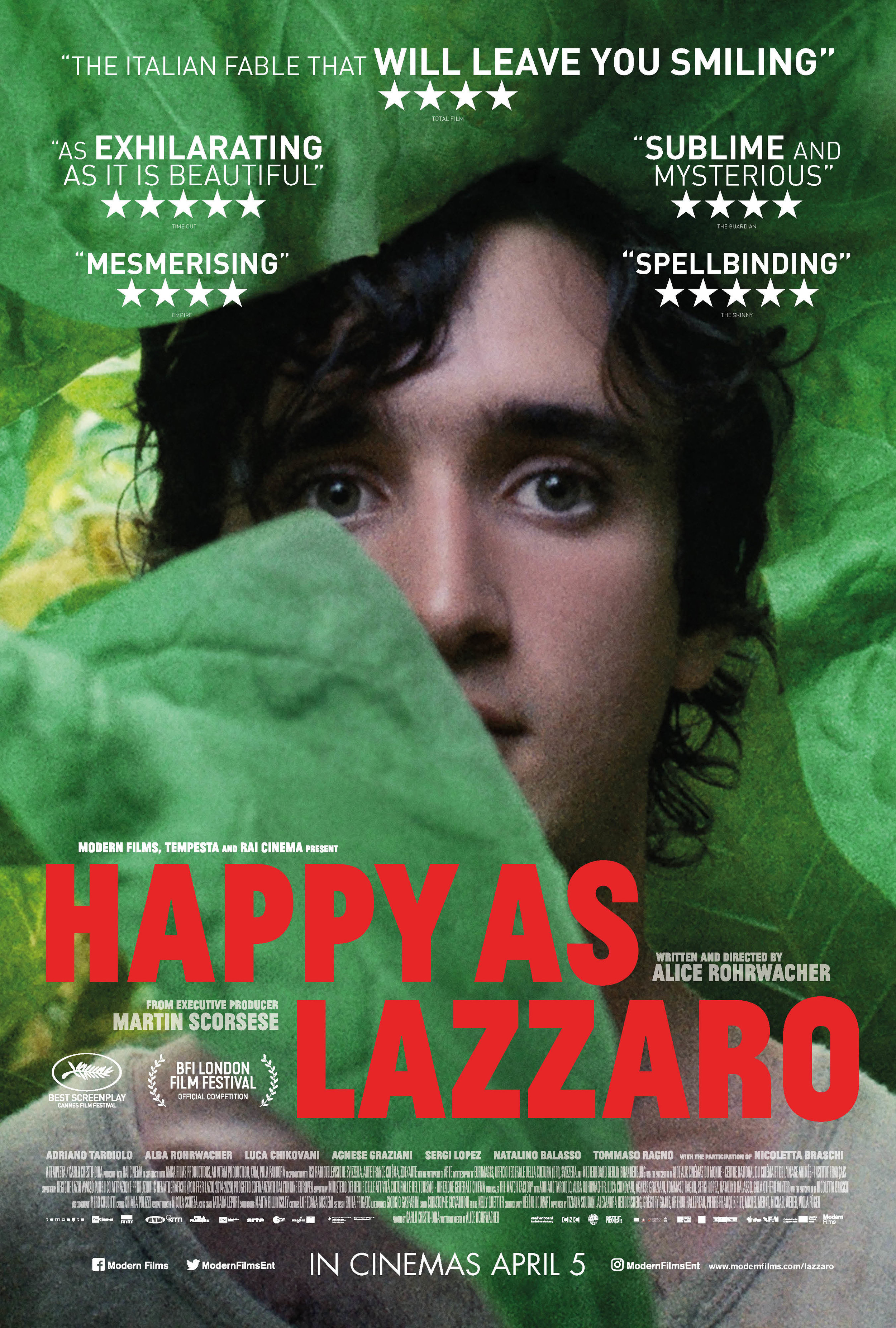 LAIMINGASIS LAZARAS (2018) / HAPPY AS LAZZARO