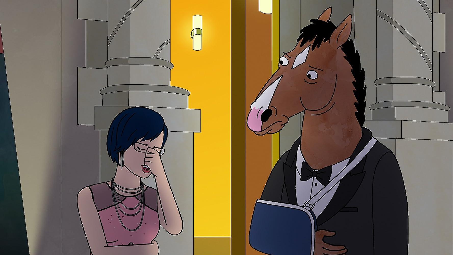 Will Arnett and Alison Brie in BoJack Horseman (2014)