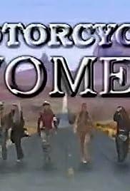 Motorcycle Women Poster