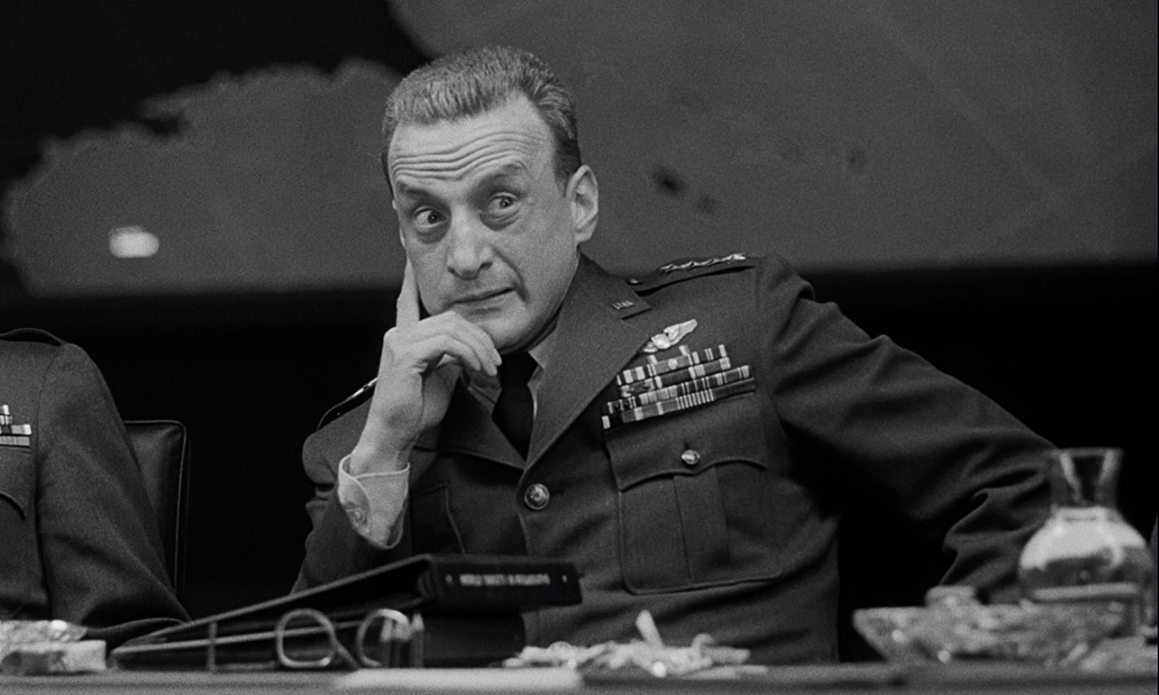 George C. Scott in Dr. Strangelove or: How I Learned to Stop Worrying and Love the Bomb (1964)