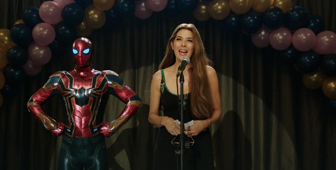 Marisa Tomei and Tom Holland in Spider-Man: Far from Home (2019)