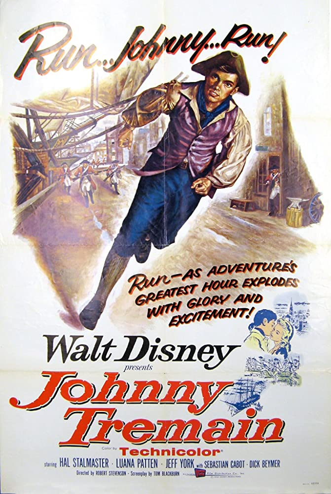 Hal Stalmaster in Johnny Tremain (1957)