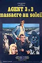 Agent 3S3, Massacre in the Sun Poster