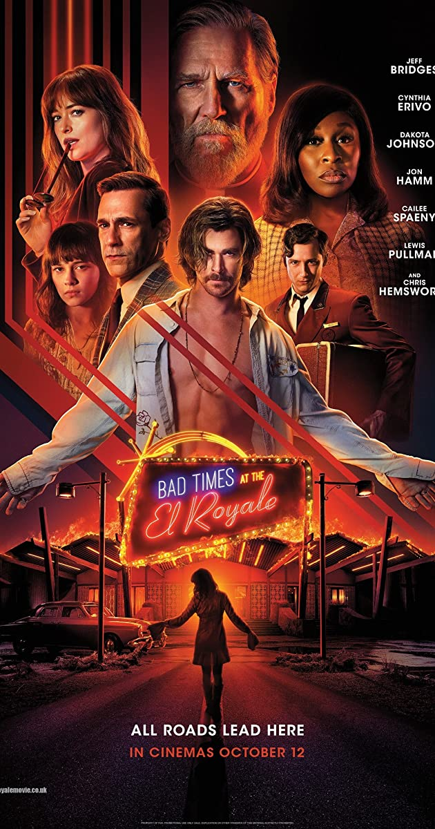 Watch Full HD Movie Bad Times at the El Royale (2018)