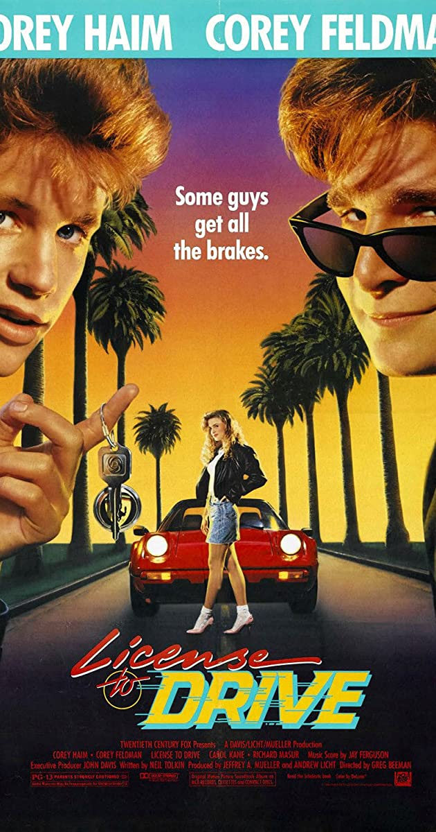 Subtitle of License to Drive