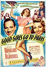Good Girls Go to Paris (1939) Poster - Movie Forum, Cast, Reviews