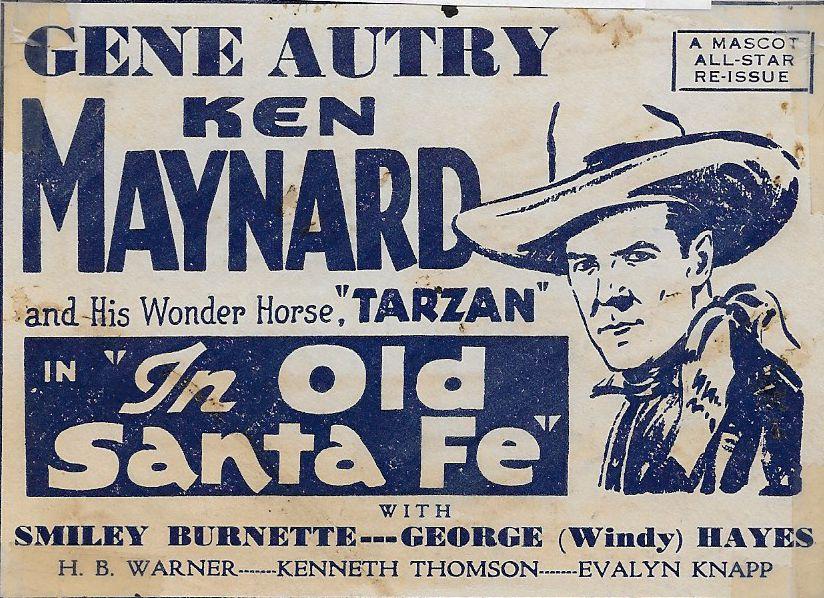 Ken Maynard in In Old Santa Fe (1934)