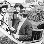 Harry McCoy and Mabel Normand in Mabel at the Wheel (1914)