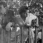 Edward Judd and Janet Munro in The Day the Earth Caught Fire (1961)