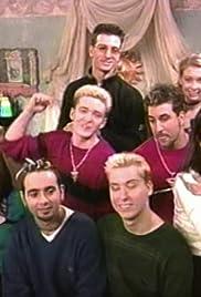 *NSYNC on the set with Sabrina Poster