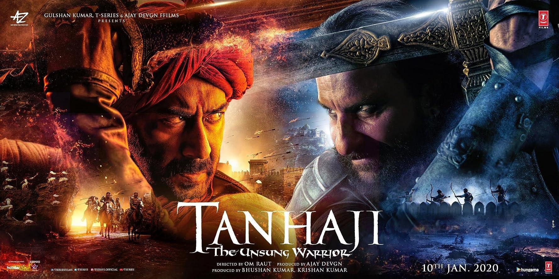 Tanhaji: The Unsung Warrior (2020) Film Indian Online