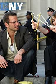 Carmine Giovinazzo and Anna Belknap in CSI: NY (2004)