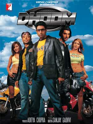 Dhoom 2004 Hindi Movie BluRay 300mb 480p 1GB 720p 4GB 12GB 1080p