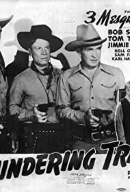Jimmie Dodd, Charles Miller, Nell O'Day, Bob Steele, Forrest Taylor, and Tom Tyler in Thundering Trails (1943)