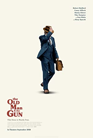 The Old Man and the Gun Film Poster