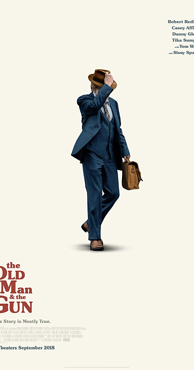 Subtitle of The Old Man & the Gun