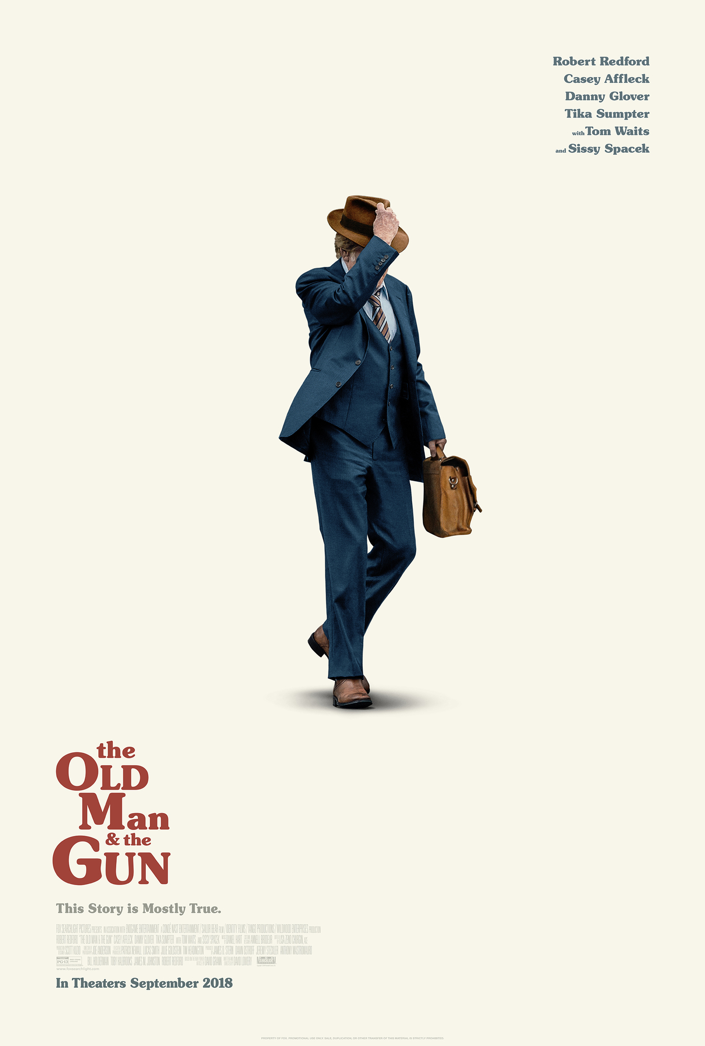The Old Man & the Gun (2018) BluRay 720p & 1080p