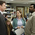 Will Ferrell, Jenna Fischer, and Craig Robinson in The Office (2005)