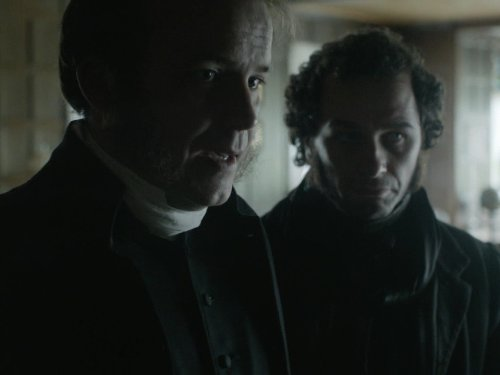 Matthew Rhys and Rory Kinnear in The Mystery of Edwin Drood (2012)